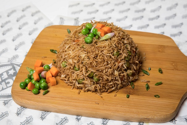 Fried Rice with Veg
